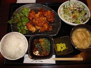 おろしポン酢から揚げ定食