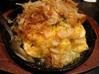 トロサーモン入りチーズ豆腐
