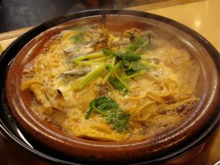 どじょうの柳川鍋