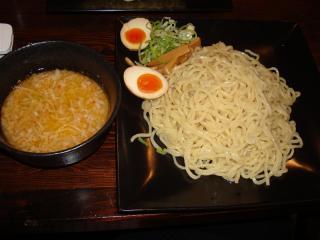 特濃豚つけ麺+味玉
