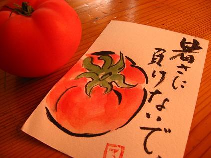 テルちゃんの絵手紙