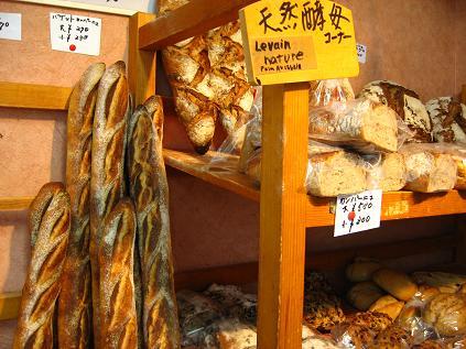 バーニャのパン達
