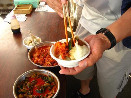 水餃子の食べ方