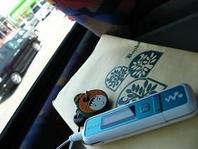 高速バスの中の過ごし方