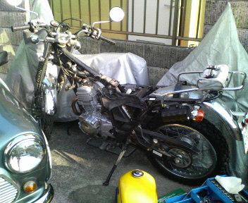 バイク整備その1