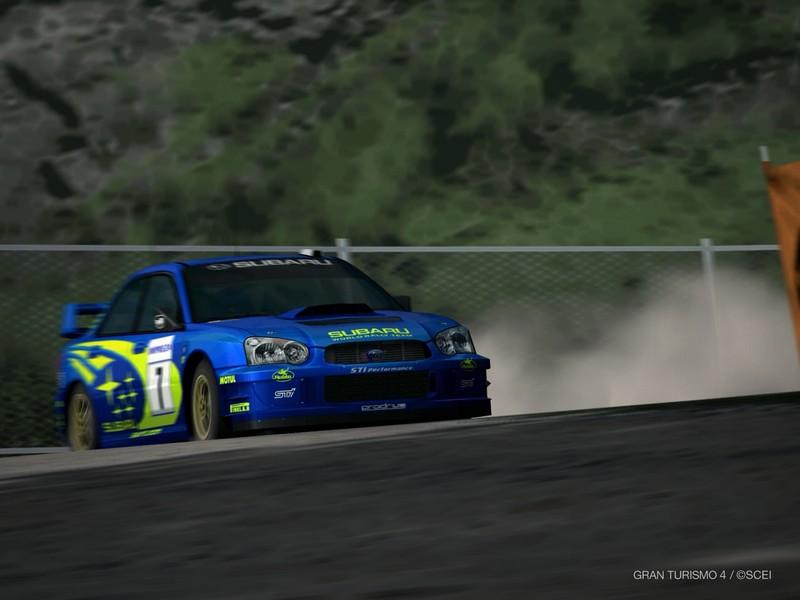 スバル インプレッサ ラリーカー '03