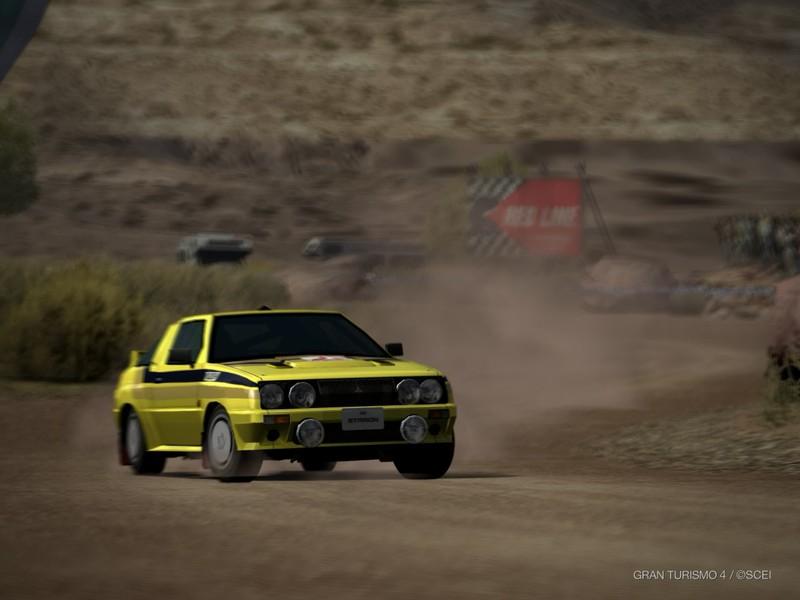 三菱 スタリオン 4WD ラリーカー '84