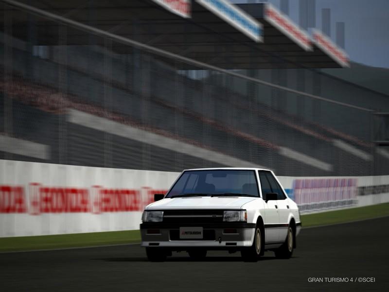 三菱 ランサー EX 1800GSR ICターボ '83