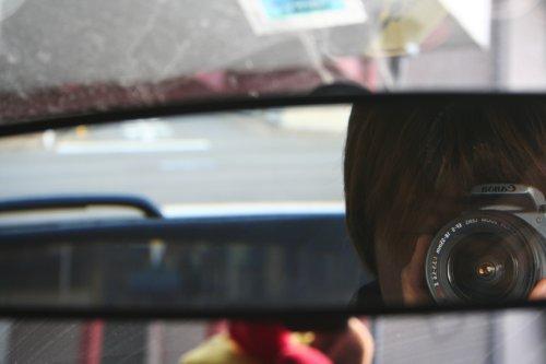 運転席の覗き場所