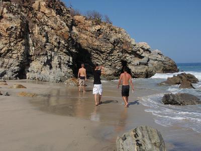 海辺の冒険