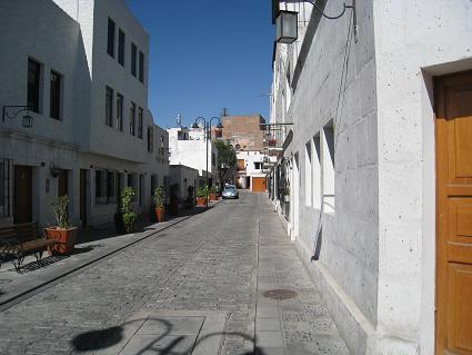 アレキパの町並み1