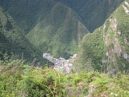 アグアス・カリエンテス村