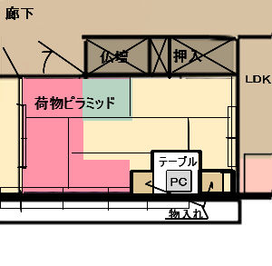 和室①(6畳・仏間)4