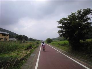 里山の道です