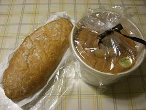 パンとシフォンケーキ