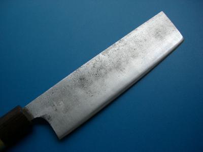修理後:菜切り包丁(刃の表)