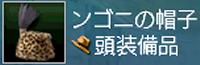 ンゴニの帽子画面