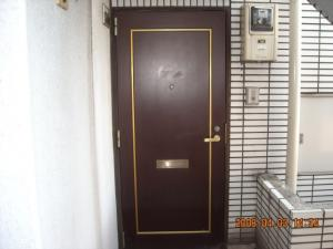 玄関ドア交換取付前