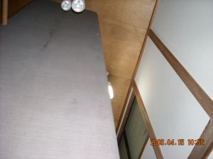 1階から見た壁紙張替(クロス張替)後