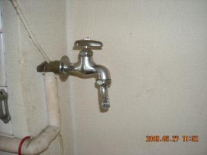 元の洗濯機用水栓