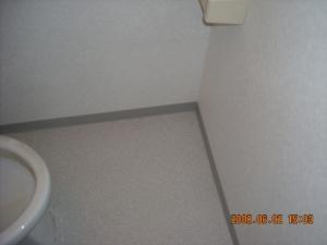 クッションフロア張替(トイレ)