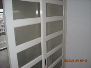 間仕切りドア塗装