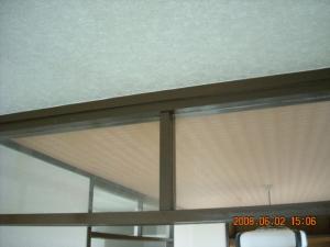 和室縁周り塗装