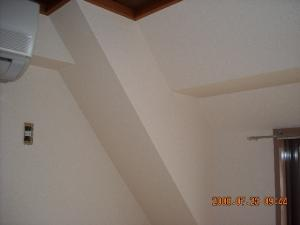 和室壁面壁紙張替(クロス張替)