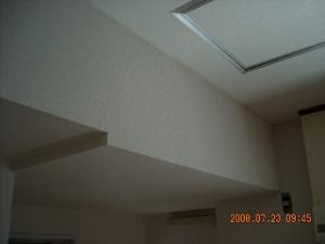 玄関壁紙天井・壁面張替(クロス張替)