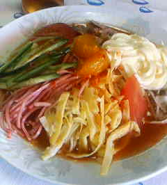 四川の冷麺