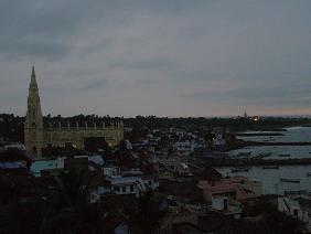 2008年の4月 南インド