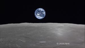 満地球の出。
