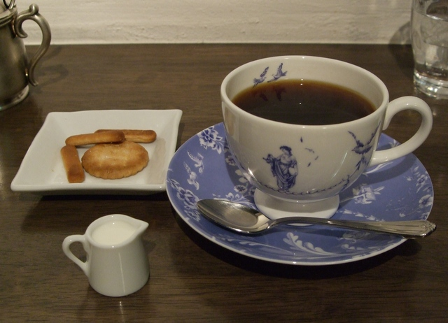 東山珈琲館 コーヒー