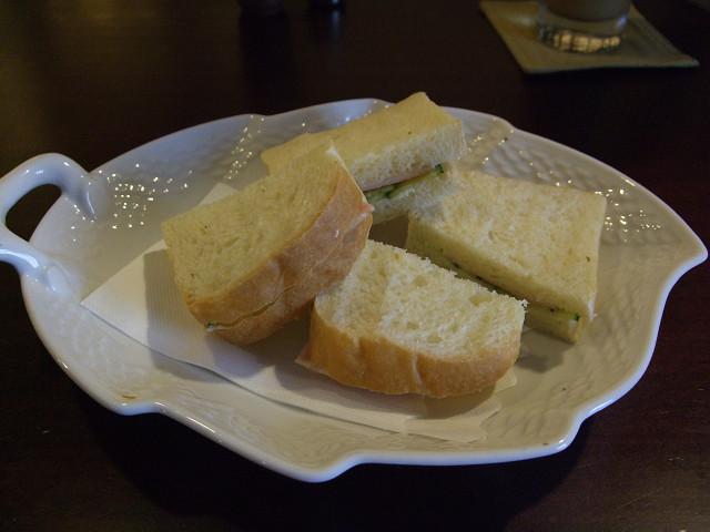 OVER TIMEサンドイッチ(ハムきゅうり)