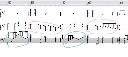 今日は、ココ作ってました。(MIDI)