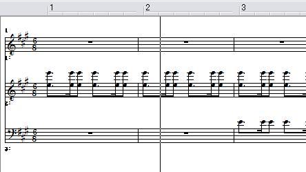 ベト7第1楽章 2分半ホド、作ってみました♪(ピアノMIDI)