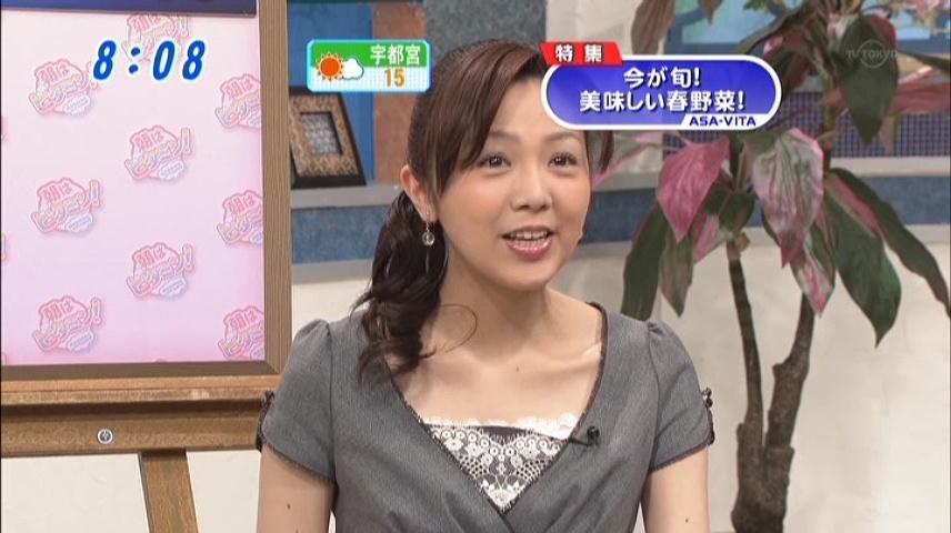 森本智子-朝はビタミン