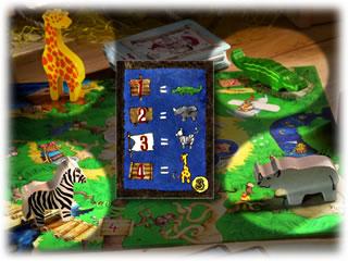 お宝よーいドン!:動物の場所替え