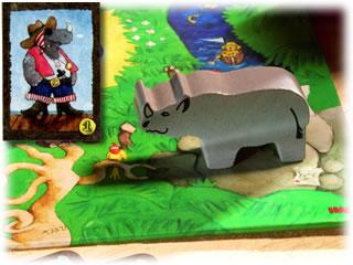お宝よーいドン!:動物つかみ取り