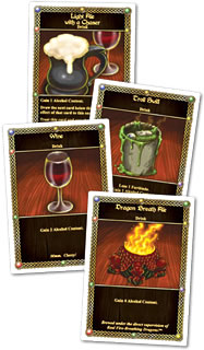 レッド・ドラゴン・イン:酒カード
