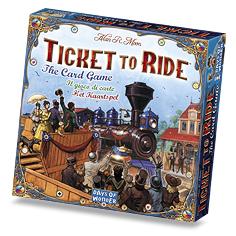 チケットトゥライドカードゲーム:箱