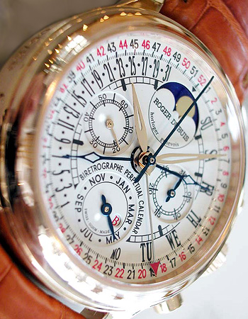 Roger Dubuis Bi-Retrograde 52weeks Perpetual Calendar Chronograph  ロジェデュブイ バイレトログラード 52週パーペチュアルカレンダー クロノグラフ RG1