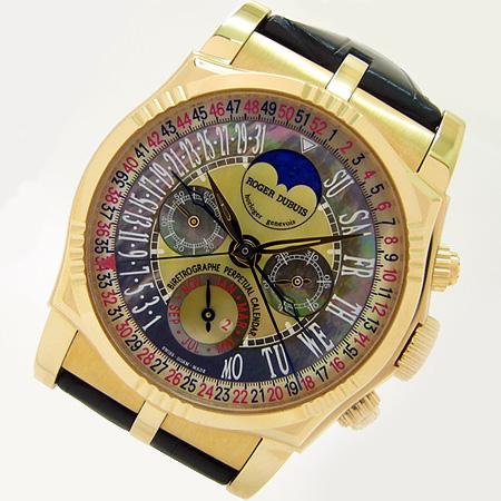 Roger Dubuis Bi-Retrograde 52weeks Perpetual Calendar Chronograph  ロジェデュブイ バイレトログラード 52週パーペチュアルカレンダー クロノグラフ RG3