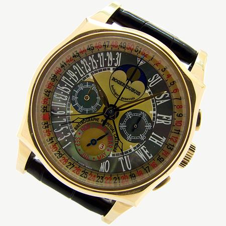 Roger Dubuis Bi-Retrograde 52weeks Perpetual Calendar Chronograph  ロジェデュブイ バイレトログラード 52週パーペチュアルカレンダー クロノグラフ RG4