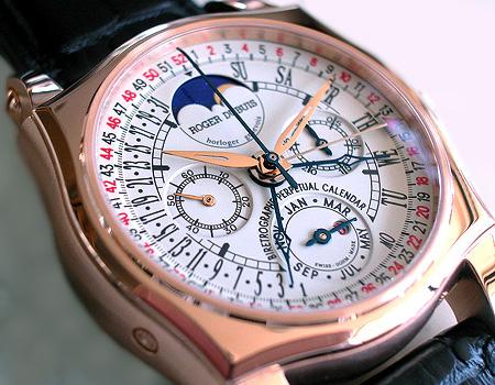 Roger Dubuis Bi-Retrograde 52weeks Perpetual Calendar Chronograph  ロジェデュブイ バイレトログラード 52週パーペチュアルカレンダー クロノグラフ RG5